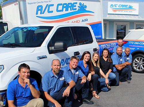 Trust A/C Care Heat & Air to Do the Job in St. Lucie